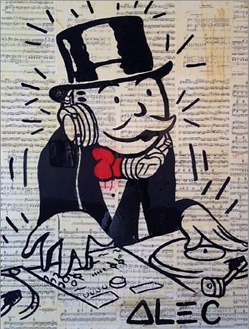 Alec Monopoly-DJ Monopoly-2013