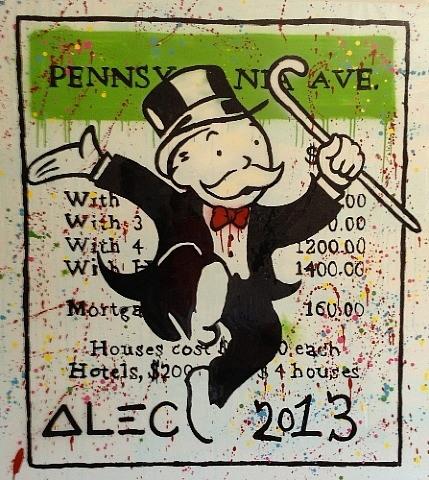 Alec Monopoly-Pennsylvania Ave-2013