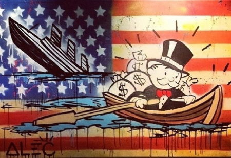 Alec Monopoly-Sinking Ship Monopoly (from Man Overboard)-2014