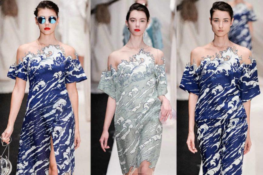Great wave dresses