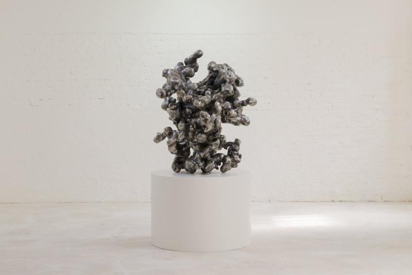 Alex Hoda - Augmund (Eyeorb), 2014, foundation cass gallery holds sculpture work