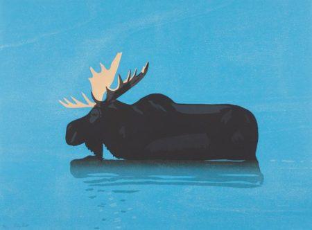 Alex Katz-Moose-2013