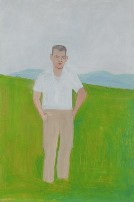 Alex Katz-Portrait of Irvin N. Ives of Lincolnville, Maine-1957