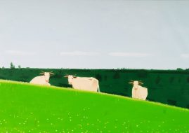 Alex Katz - Three Cows, 1981