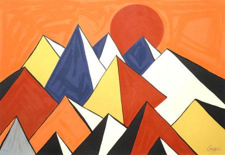Alexander Calder-Homage to the sun-1973