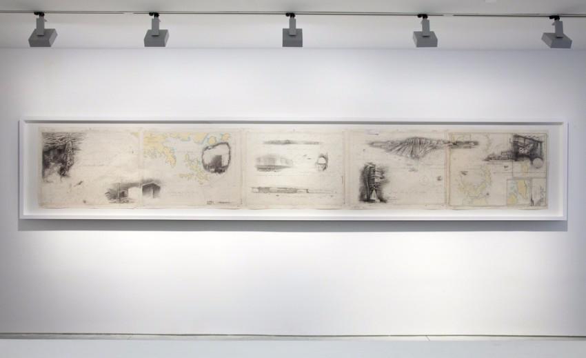 Mirage Architecture, 2012, Richard Taittinger Gallery, NY, installation view