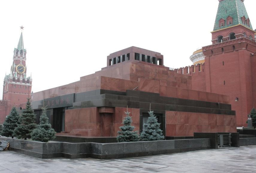 Alexey Shchusev - Lenin's Mausoleum, 2016 - Image via like post years policy of concrete