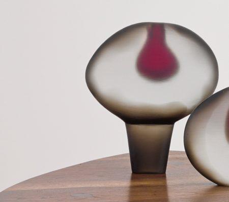 Alfredo Barbini - Vetro Pesante Sasso Vase-1962