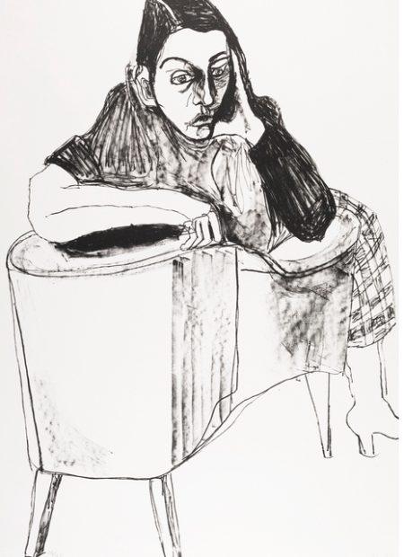 Alice Neel-Nancy-1983