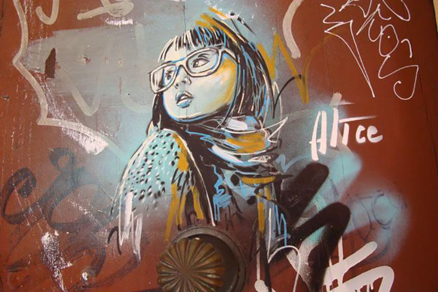 Alice Pasquini in Bologna 8