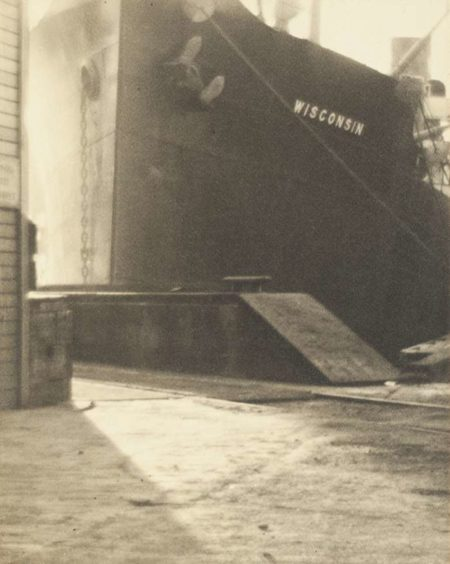 Alma Lavenson-Docked Ship-1930