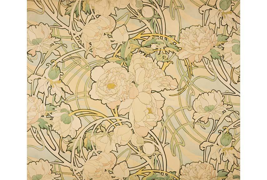 Art Nouveau Painting Wallpaper
