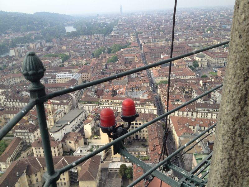 instead of a museum, the show will be held at mole antonelliana, the tallest building in torino