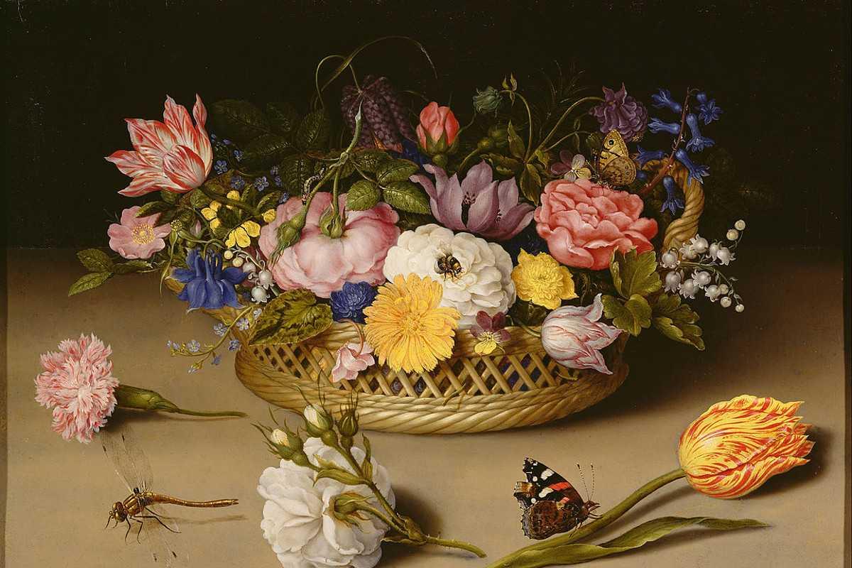 Ambrosius Bosschaert - Flower_Still_Life, detail 1617