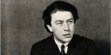 Andre Breton - Photo of the artist by Man Ray, 1932 - Image via theredlistcom
