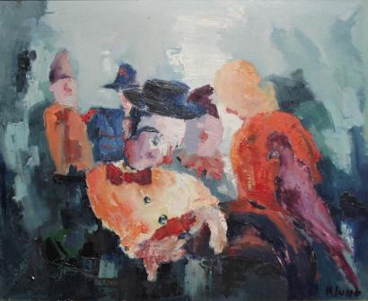 Andre Klumb-Au cirque-