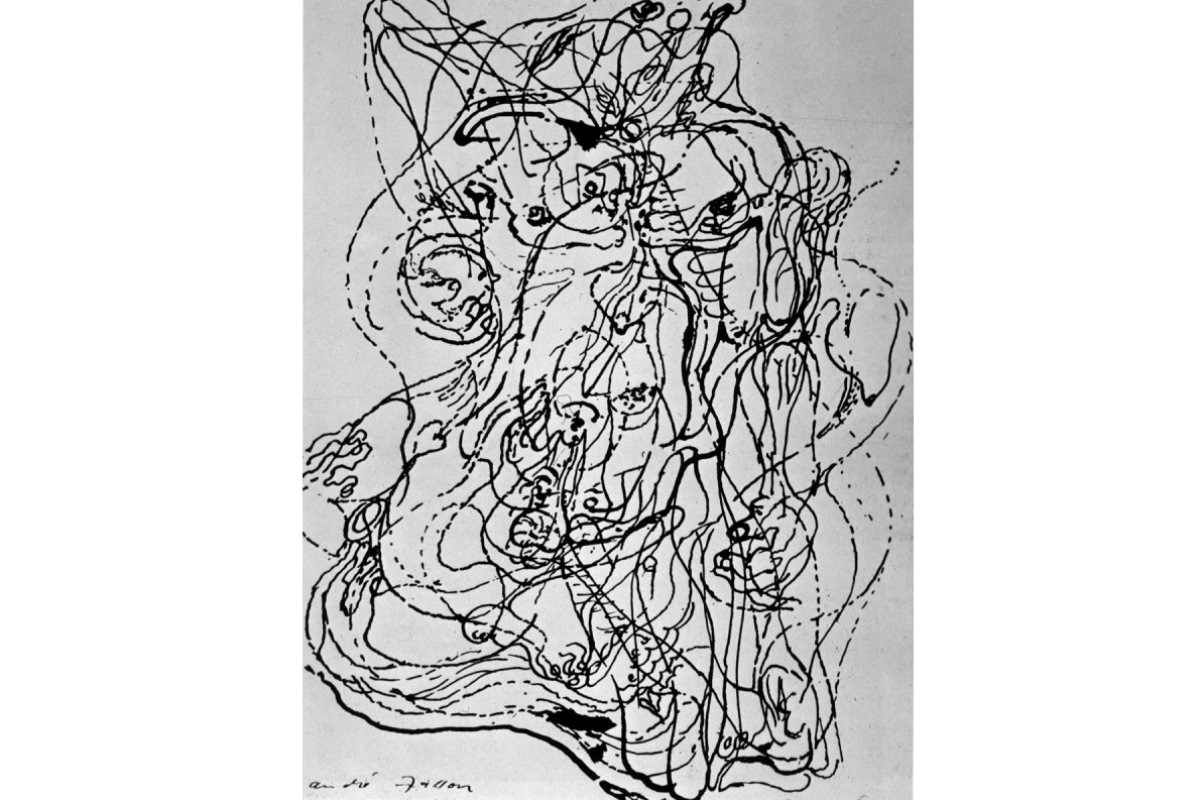 Andre Masson - Automatic Drawing, 1921