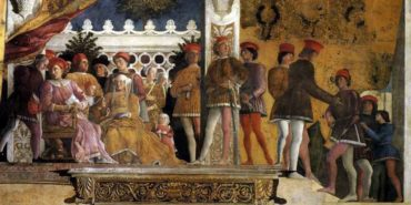 Andrea Mantegna - The Court of Mantua, 1474