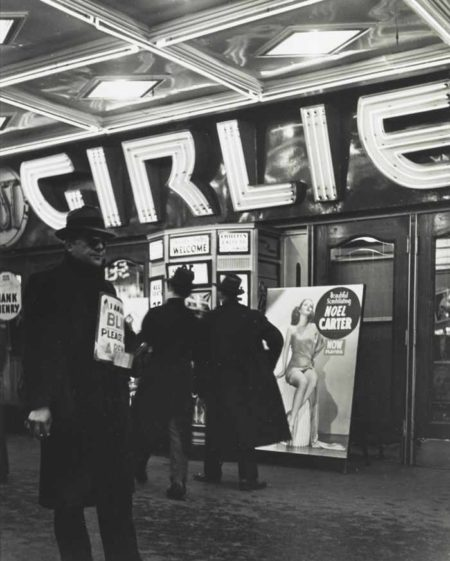 Andreas Feininger-Girlie Theater 42Nd Street-1940