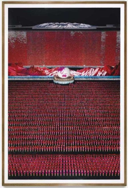 Andreas Gursky-Pyongyang IV-2007