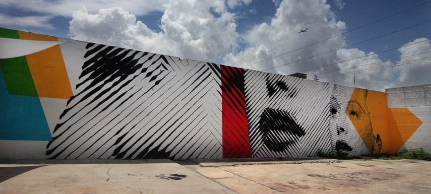 Andrew Antonaccio - Mural In Miami (2Alas piece) - Image via streetartnews.com