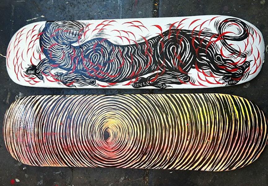 street art skateboard