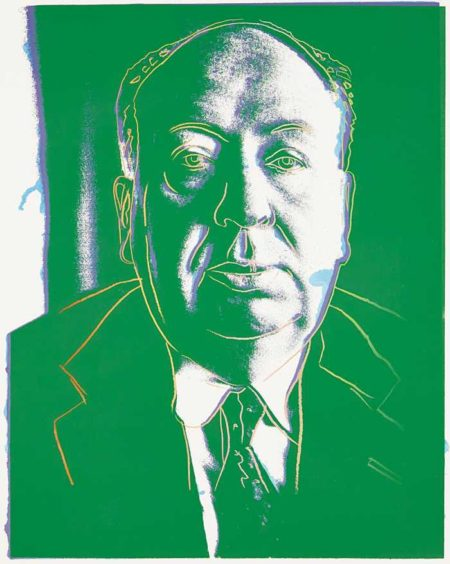 Andy Warhol-Alfred Hitchcock-1983