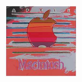 Andy Warhol-Apple (from Ads)-1985