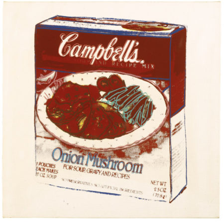 Andy Warhol-Campbell'S Soup Box: Onion Mushroom-1986