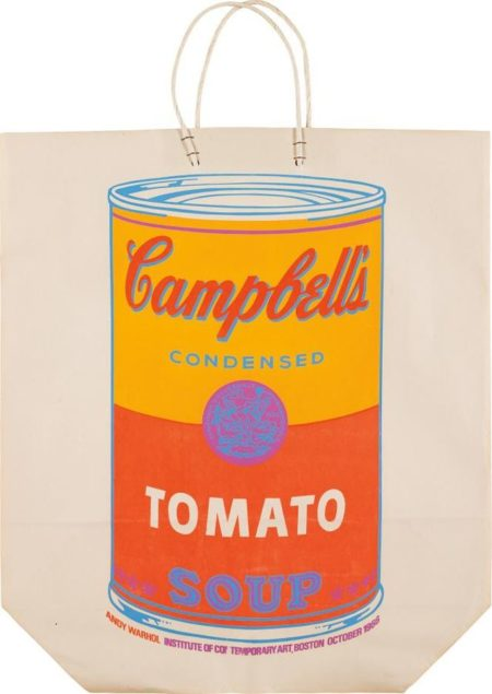 Andy Warhol-Campbell's Soup Can (Tomato)-1966