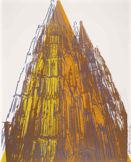 Andy Warhol-Cologne Cathedral-1985