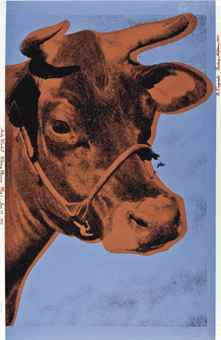 Andy Warhol-Cow-1971