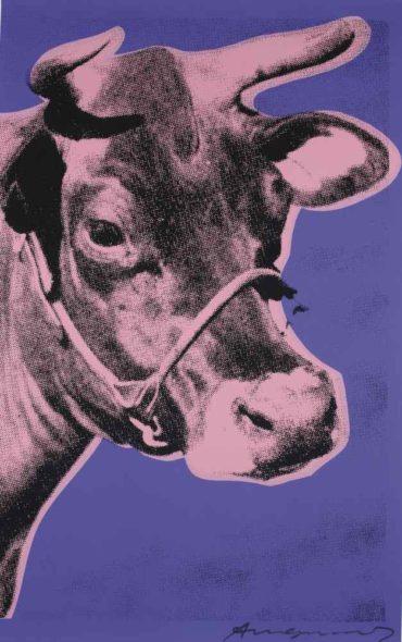 Andy Warhol-Cow-1976