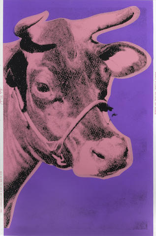 Andy Warhol-Cow-1976