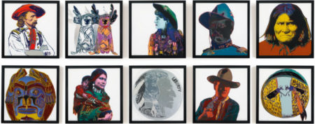 Andy Warhol-Cowboys And Indians-1986