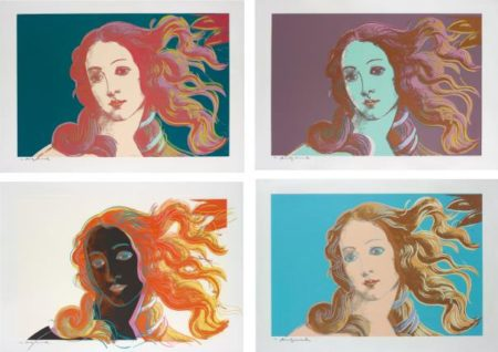 Andy Warhol-Details of Renaissance Paintings (Sandro Botticelli, Birth of Venus 1482)-1984
