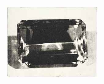 Andy Warhol-Diamond Dust Gem-1980