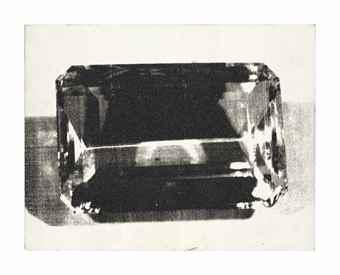 Andy Warhol-Diamond Dust Gem-1980
