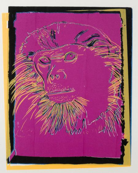 Andy Warhol-Douc Langur-1986