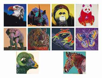 Andy Warhol-Endangered Species-1983