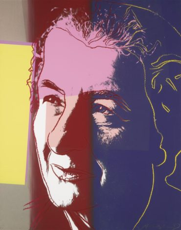 Andy Warhol-Golda Meir, From Ten Portraits Of Jews Of The Twentieth Century-1980