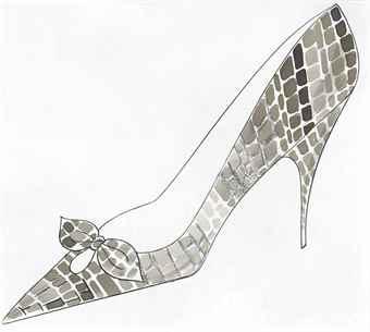 Andy Warhol-High Heel-1958