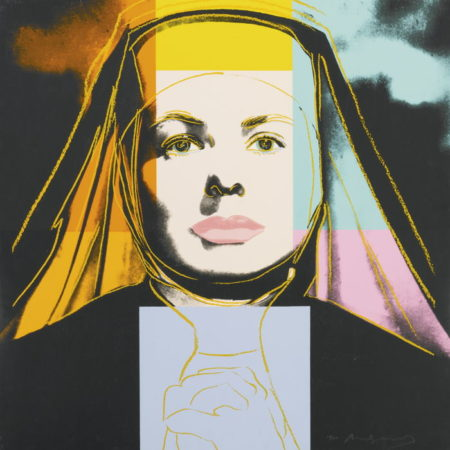 Andy Warhol-Ingrid Bergman: The Nun-1983