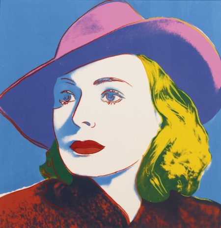 Andy Warhol-Ingrid Berman: With Hat-1983