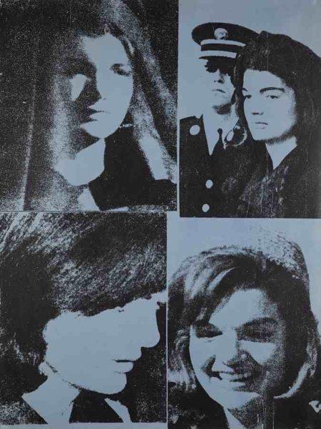 Andy Warhol-Jacqueline Kennedy III (Jackie III), from 11 Pop Artists, Volume III-1966