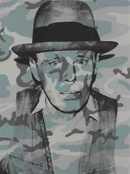 Andy Warhol-Joseph Beuys in Memoriam-1986