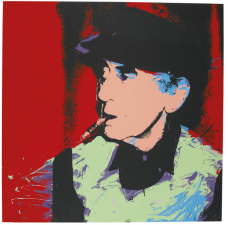 Andy Warhol-Man Ray-1974