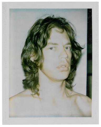 Andy Warhol-Mick Jagger-1975