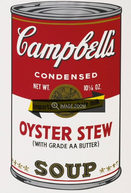 Andy Warhol-Oyster Stew-1969