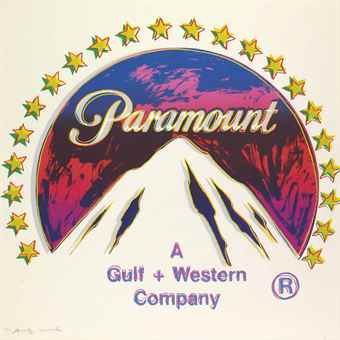Andy Warhol-Paramount, from Ads-1985